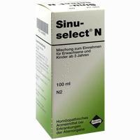 Sinuselect N  Tropfen 100 ml