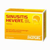 Abbildung von Sinusitis Hevert Sl Tabletten 100 Stück