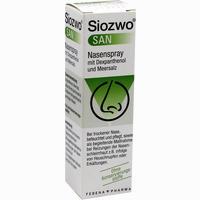 Siozwo San Nasenspray Mit Dexpanthenol Und Meersalz  20 ml