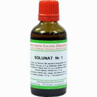 Solunat Nr. 1  Tropfen 50 ml