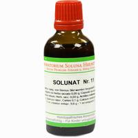 Solunat Nr. 11  Tropfen 50 ml