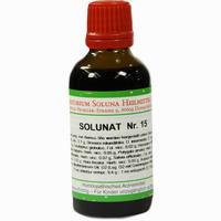 Solunat Nr. 15  Tropfen 50 ml