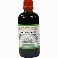 Solunat Nr. 16  Tropfen 100 ml