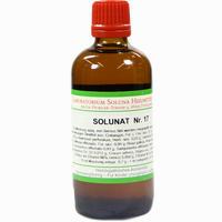Solunat Nr. 17  Tropfen 100 ml