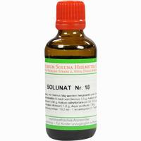 Solunat Nr. 18  Tropfen 50 ml