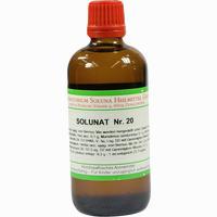 Solunat Nr. 20  Tropfen 100 ml