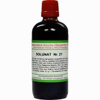Solunat Nr. 21  Tropfen 100 ml
