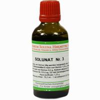 Abbildung von Solunat Nr. 3  Tropfen 50 ml