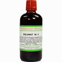 Solunat Nr. 5  Tropfen 100 ml