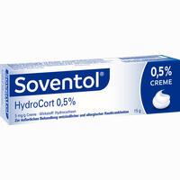 Soventol Hydrocort 0.5% Creme   15 g