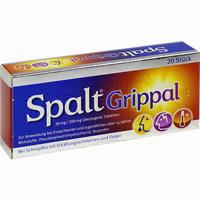 Abbildung von Spaltgrippal 30mg/200mg Tabletten 20 Stück