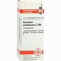 Strontium Carbonicum C200  Globuli 10 g