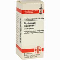 Strychninum Nitricum D12  Globuli 10 g