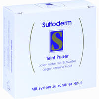 Abbildung von Sulfoderm S Teint Puder  20 g