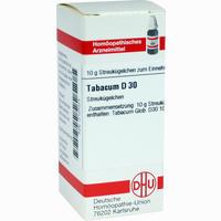 Abbildung von Tabacum D30 Globuli 10 g