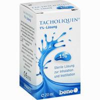 Tacholiquin 1% - Lösung   20 ml