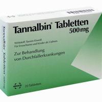 Abbildung von Tannalbin Tabletten 20 Stück
