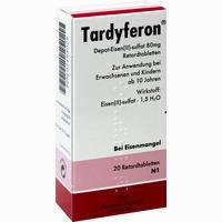 Abbildung von Tardyferon Retardtabletten 20 Stück