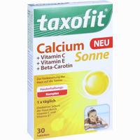 Abbildung von Taxofit Calcium Sonne Tabletten  30 Stück
