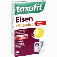 Abbildung von Taxofit Eisen + Vitamin C Kapseln 40 Stück