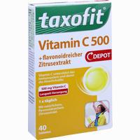 Taxofit Vitamin C 500 Depo 40 Stück
