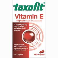 Taxofit Vitamin E  Kapseln 60 Stück