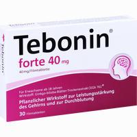 Abbildung von Tebonin Forte 40 Mg Filmtabletten 30 Stück