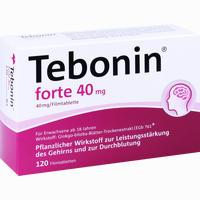 Tebonin Forte 40 Mg  Filmtabletten 120 Stück