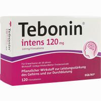 Abbildung von Tebonin Intens 120mg Filmtabletten 120 Stück