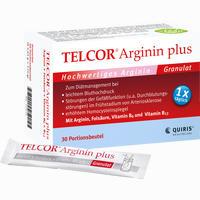 Telcor Arginin Plus Btl.  Granulat 30 Stück