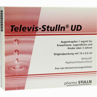 Televis-stulln Ud  Augentropfen 10X0.6 ML