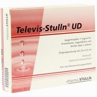 Televis-stulln Ud  Augentropfen 20X0.6 ml