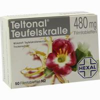 Teltonal Teufelskralle 480mg Filmtabletten   50 ST