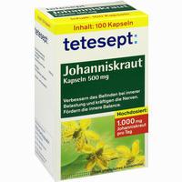 Tetesept Johanniskraut Kapseln   100 Stück
