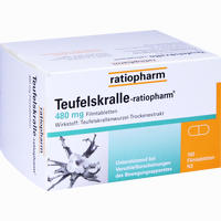 Teufelskralle-ratiopharm  Filmtabletten 100 ST