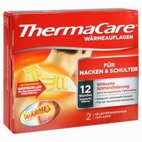 Abbildung von Thermacare Nacken/Schulter/Arm Auflagen zur Schmerzlinderung 2 Stück