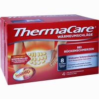 Thermacare Rückenumschläge S-Xl Zur Schmerzlinderung 4 Stück