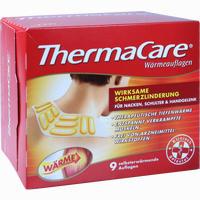 Thermacare Wärmeauflage Nacken 9 Stück