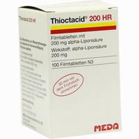 Abbildung von Thioctacid 200 Hr Filmtabletten 100 Stück