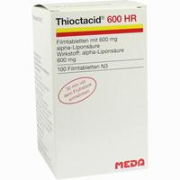 Abbildung von Thioctacid 600 Hr Filmtabletten 100 Stück