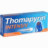 Abbildung von Thomapyrin Intensiv Tabletten 20 Stück