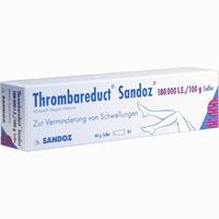 Abbildung von Thrombareduct Sandoz 180 000 I.e. Salbe  40 g