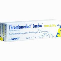 Thrombareduct Sandoz 30 000 I.e. Salbe   40 g