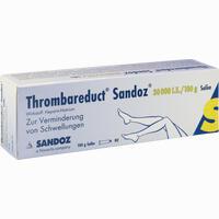 Thrombareduct Sandoz 30 000 I.e. Salbe   100 g