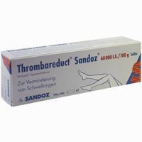 Thrombareduct Sandoz 60 000 I.e. Salbe   100 g