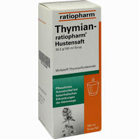 Abbildung von Thymian- Ratiopharm Hustensaft Sirup 100 ml