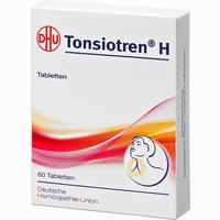 Abbildung von Tonsiotren H Tabletten 60 Stück