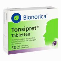 Abbildung von Tonsipret Tabletten  50 Stück