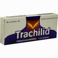 Abbildung von Trachilid Halsschmerztabletten Lutschtabletten 20 Stück