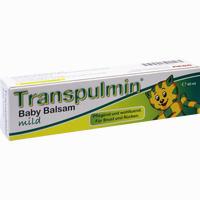 Abbildung von Transpulmin Baby Balsam Mild 40 ml